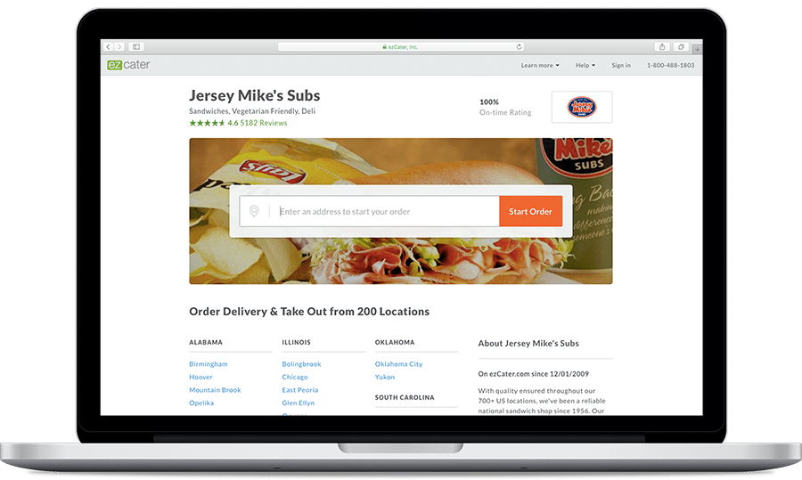 Jersey Mike's Catering