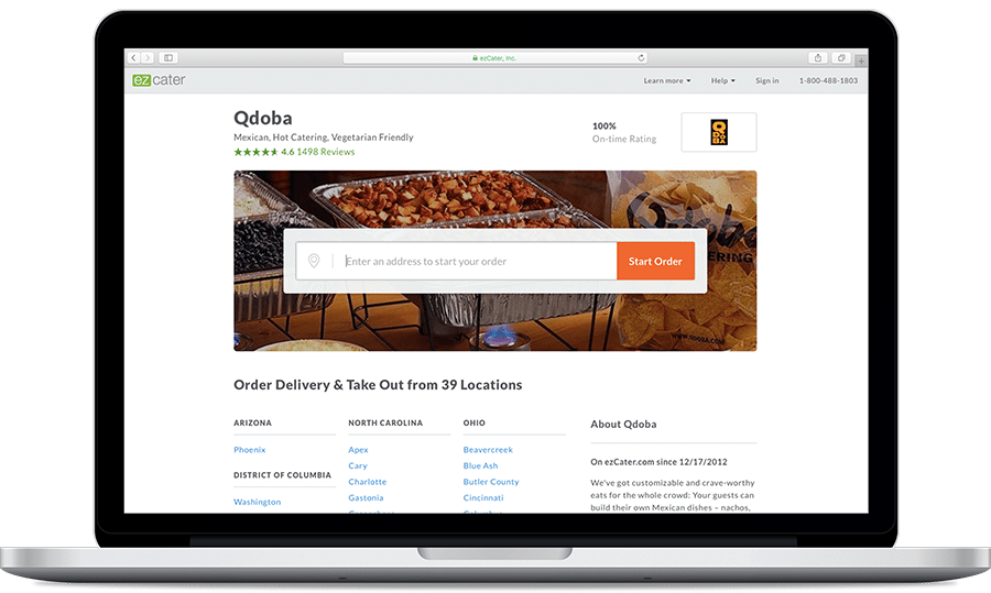 Qdoba Online Ordering