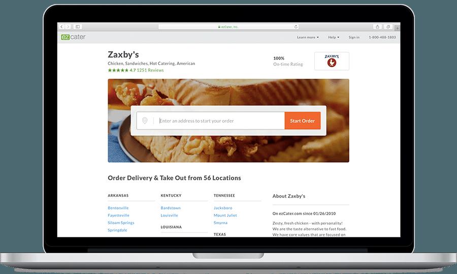 Zaxby's Online Ordering