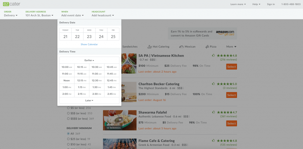 68b81403f How to Order Catering with ezCater - Lunch Rush