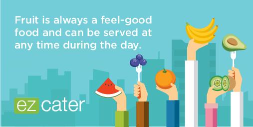 Fruit is always a feel-good food