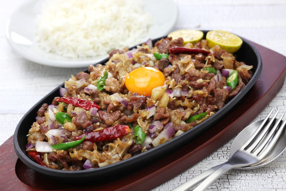 Sisig is a must-try dish in Filipino cuisine.