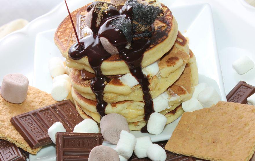 Babycake's S'mores Pancakes