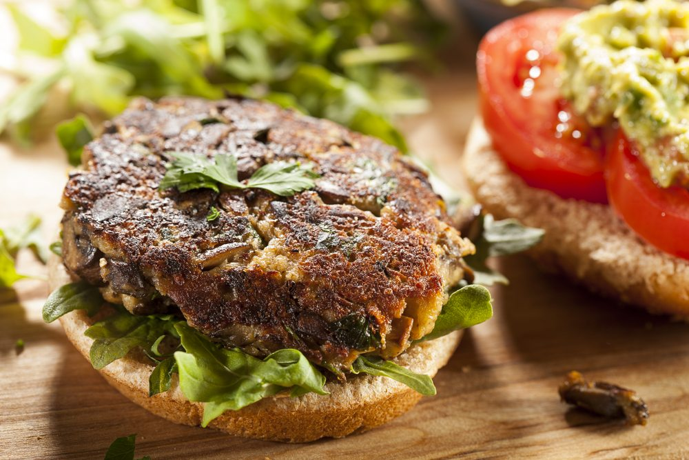 New vegetarian burgers now have a meatier texture thanks to technological innovations.