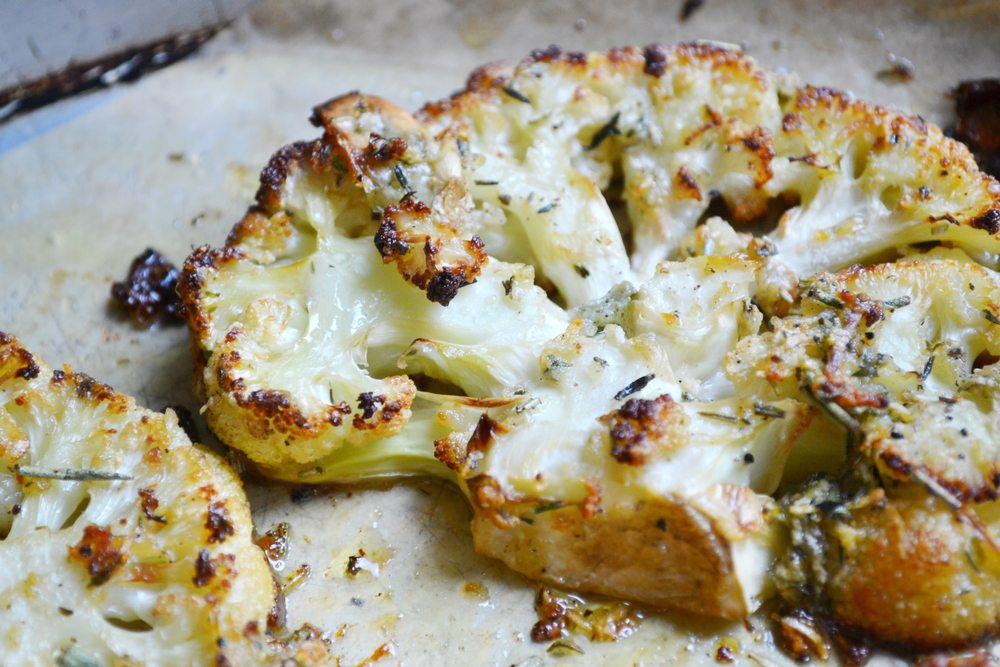 Cauliflower steaks are becoming a popular vegan alternative