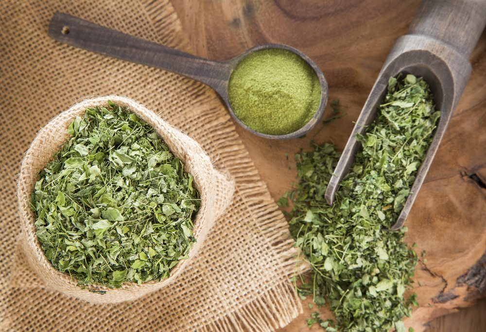 Moringa powder is a 2018 global food trend.