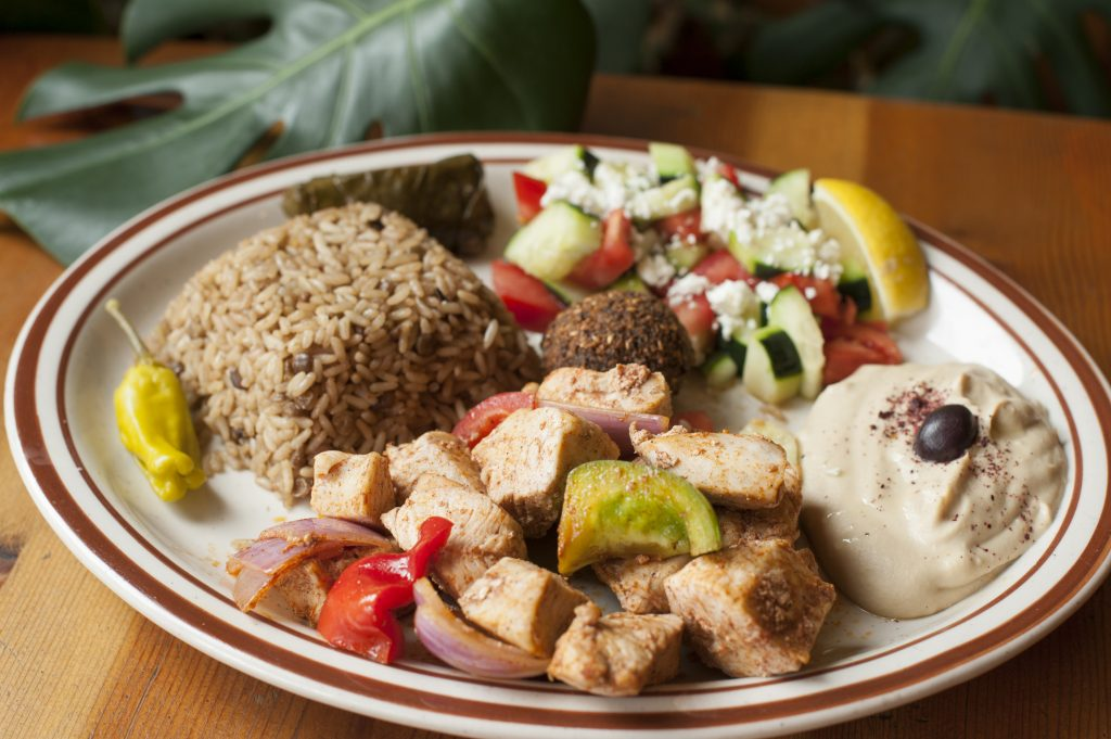 Blue Front Cafe - Chicken Kabob_Plate