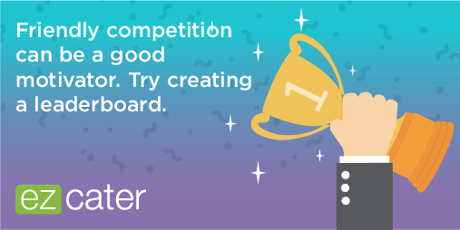 Create a leaderboard to engage training attendees in friendly competition