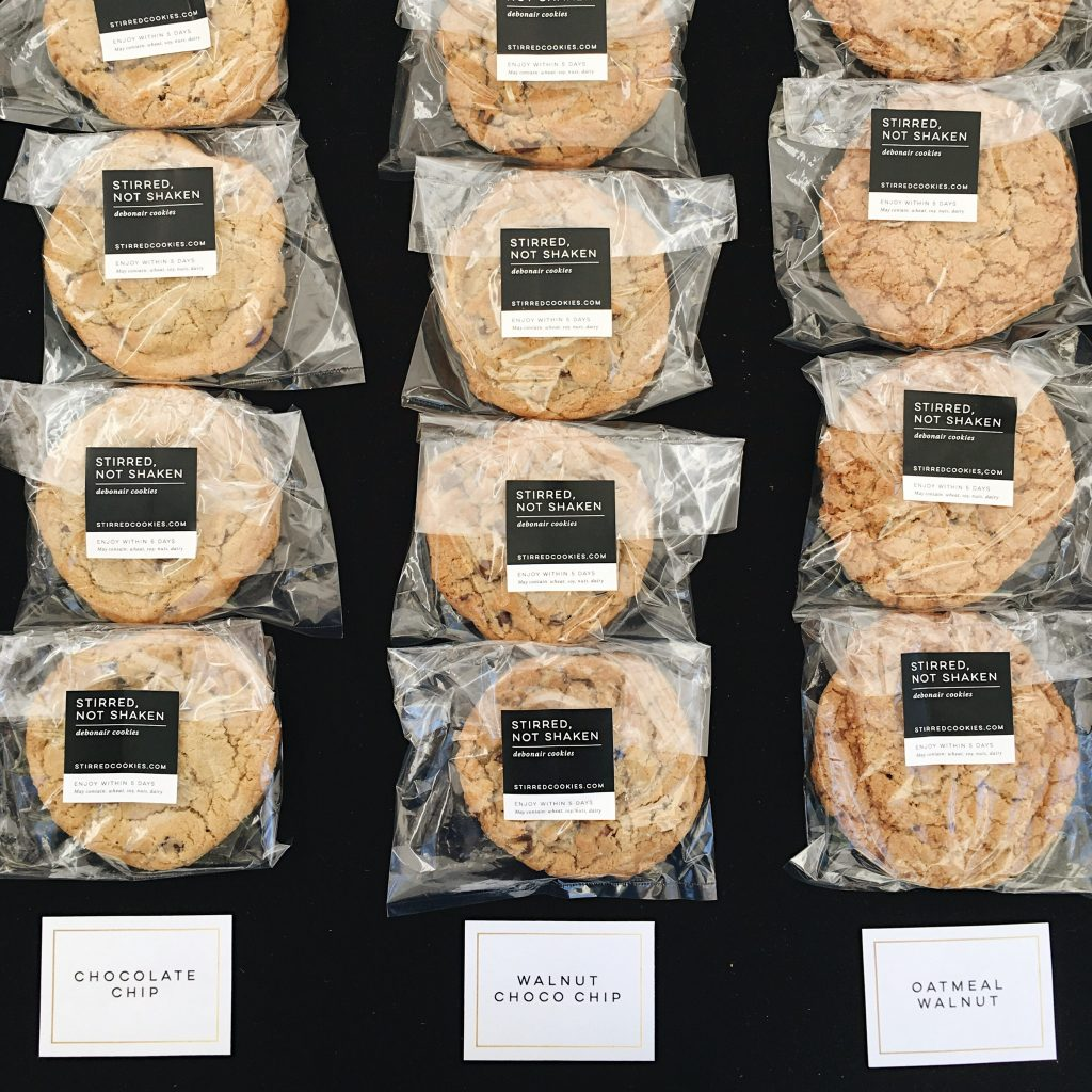 Stirred Not Shaken Individual Cookie Packs