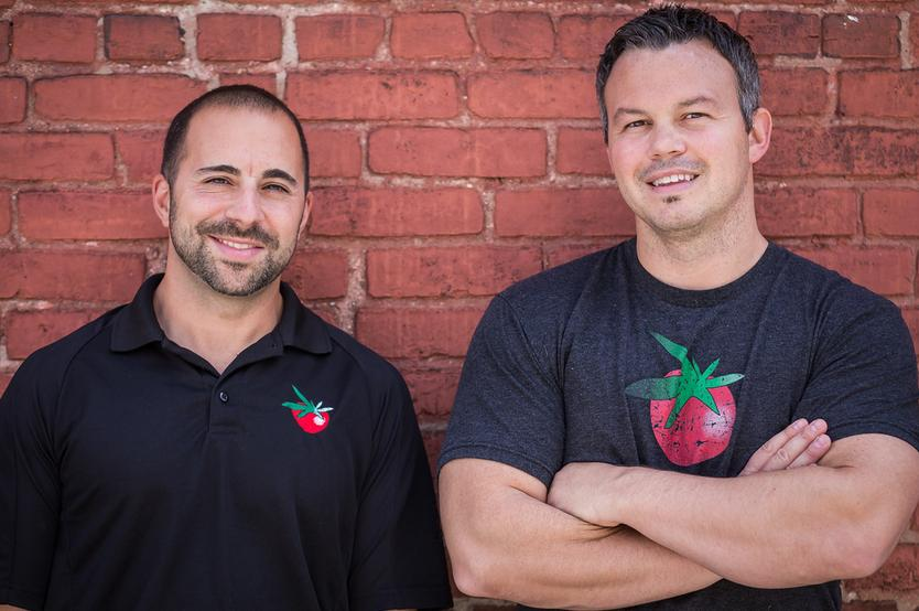Couch Tomato Catering Owners Craig Mosmen and Michael Cassano