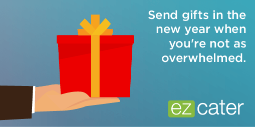 Send gifts in the New Year to be more productive in the holiday season