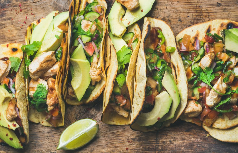 Tacos are an easily customizable catering dish