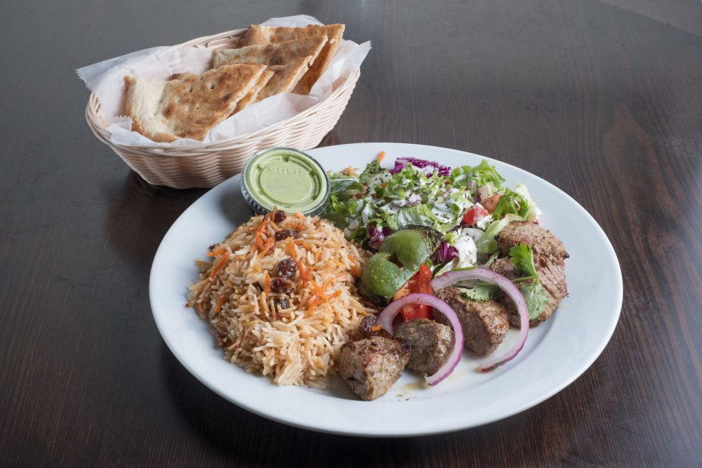 Maiwand Grill Beef Kabob Boxed Lunch