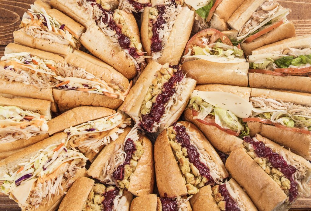 Capriotti's Catering Tray