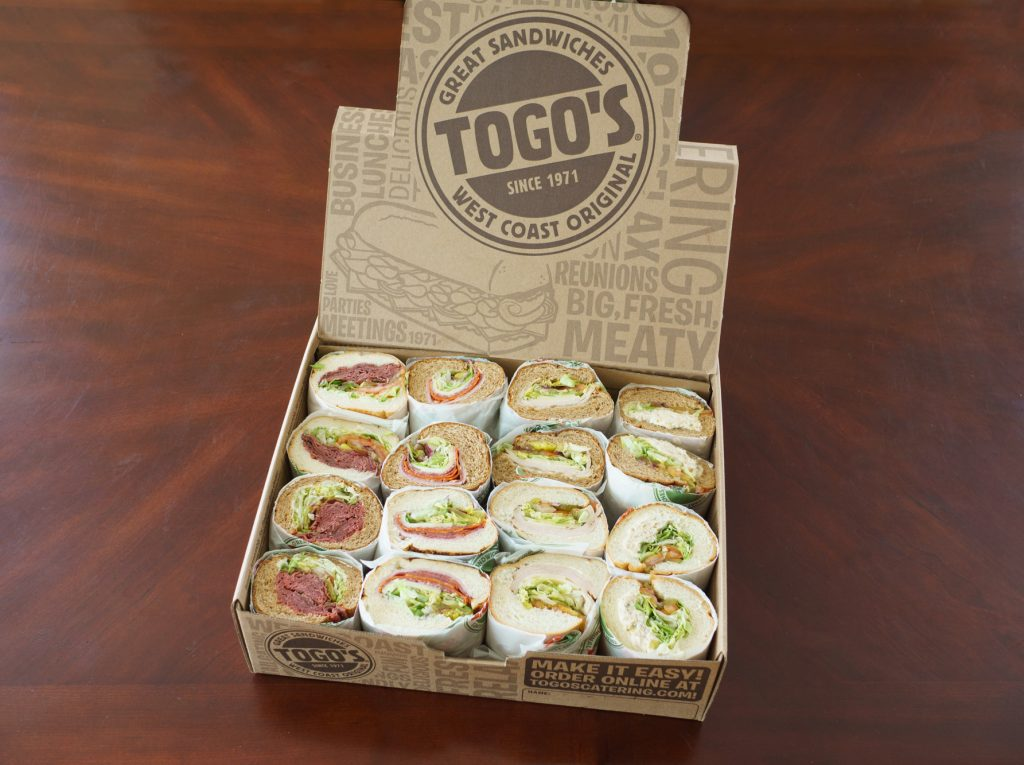 Togo's Sandwiches Catering Assortment
