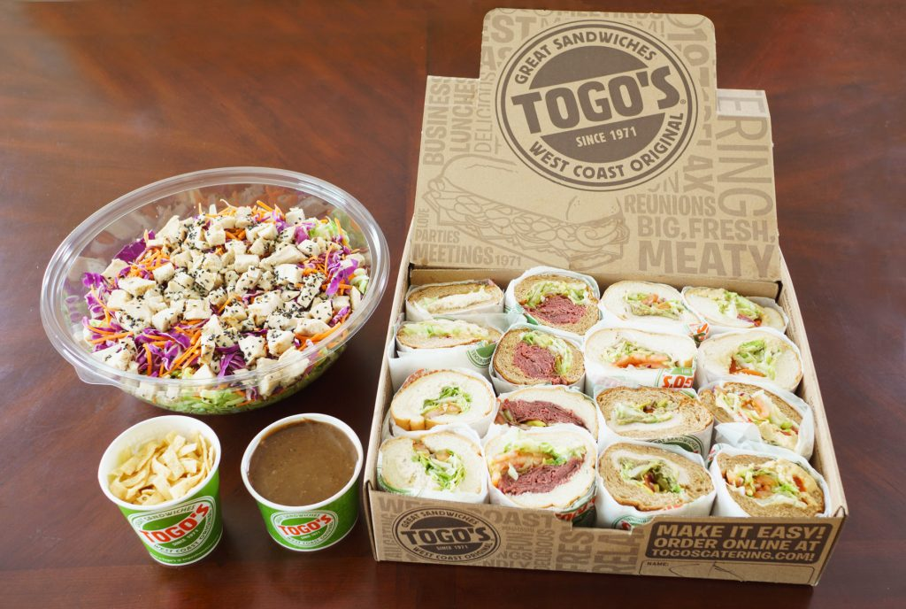 Togo's Sandwiches Catering