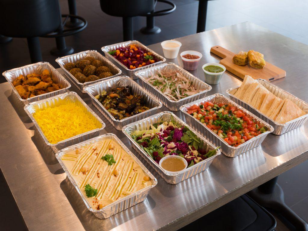 Sajj Falafel and 1 protein
