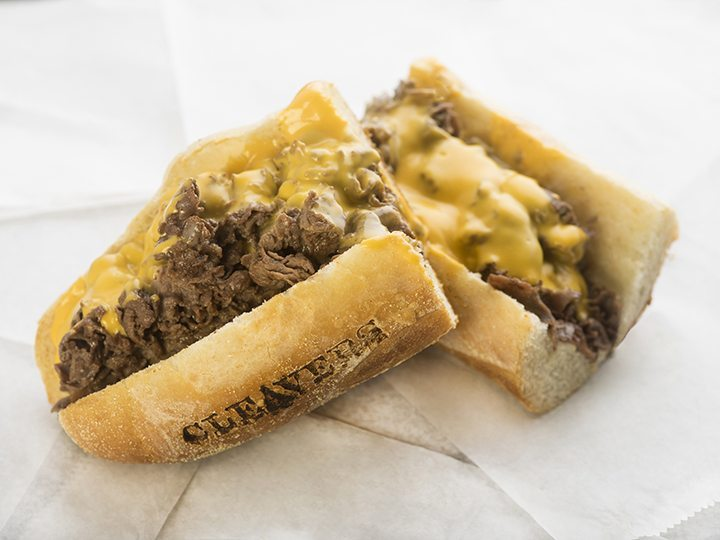 Cleavers' Steak and Cheese