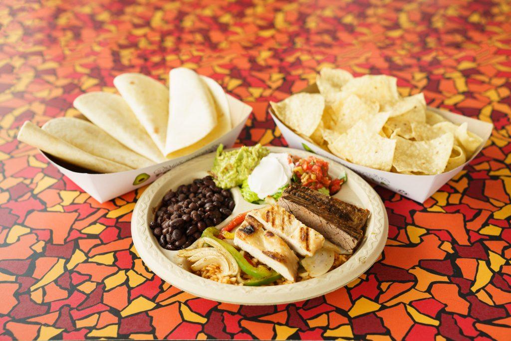 California Tortilla Make Your Own Fajita Bar