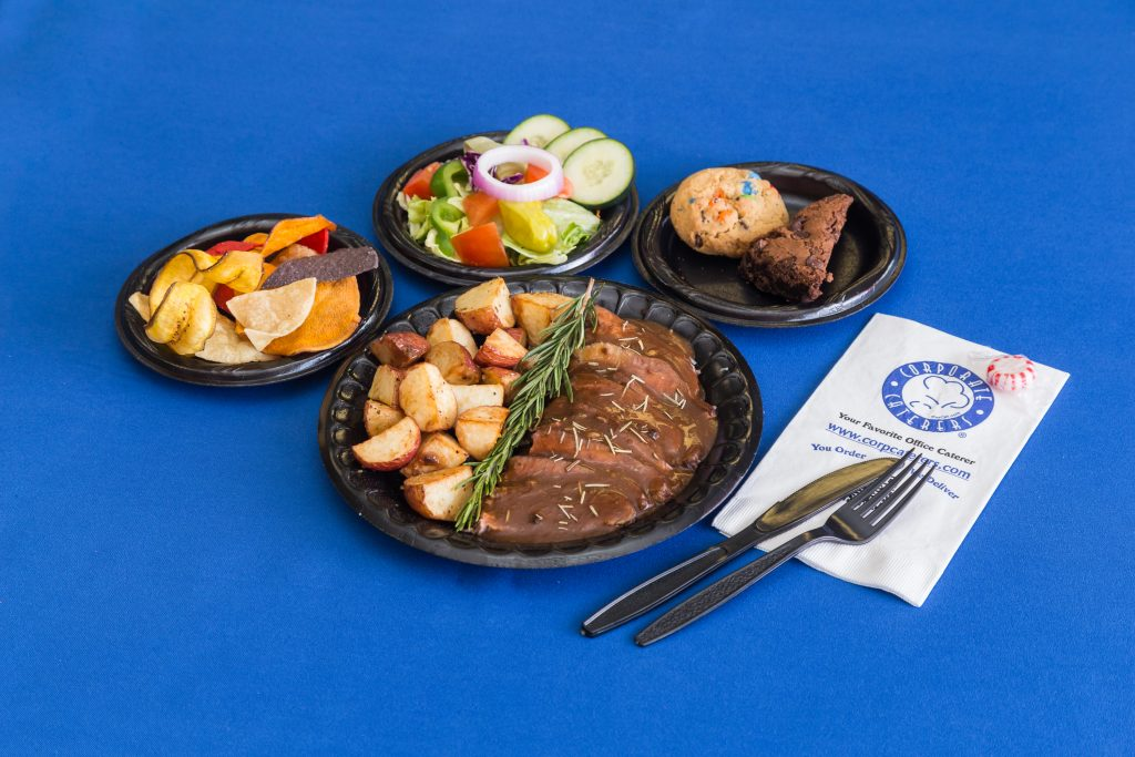 Miami's Corporate Caterers Rosemary Merlot Flanked Steak
