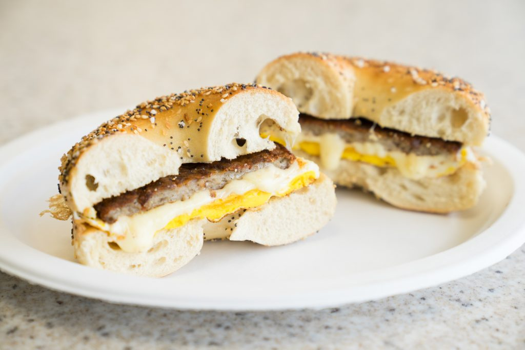 Manhattan Bagel - Bagel Sandwich