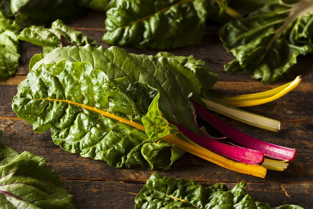 Swiss chard is one of many new vegetables growing in popularity