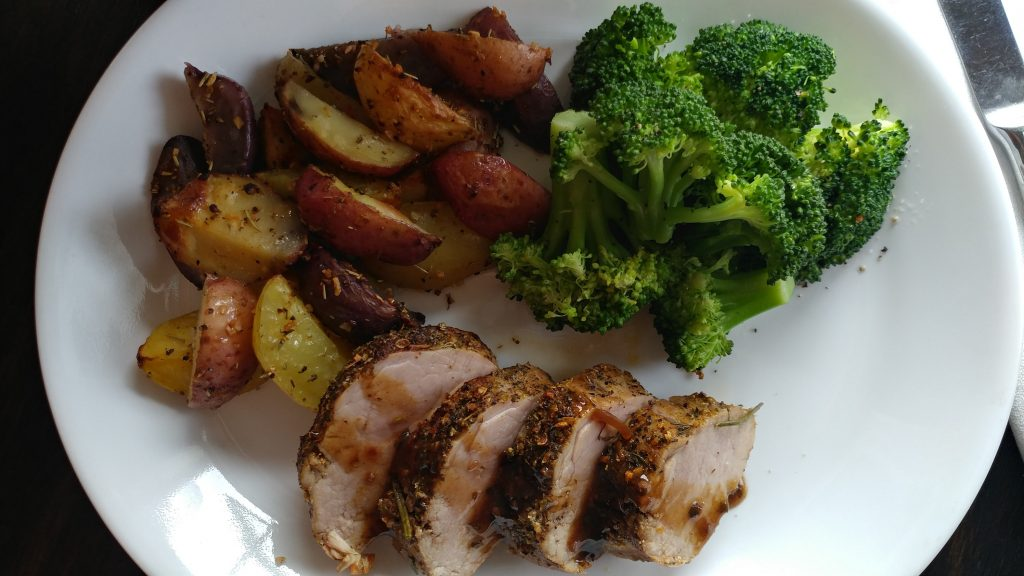Amazing Caterers - Roasted Pork Loin