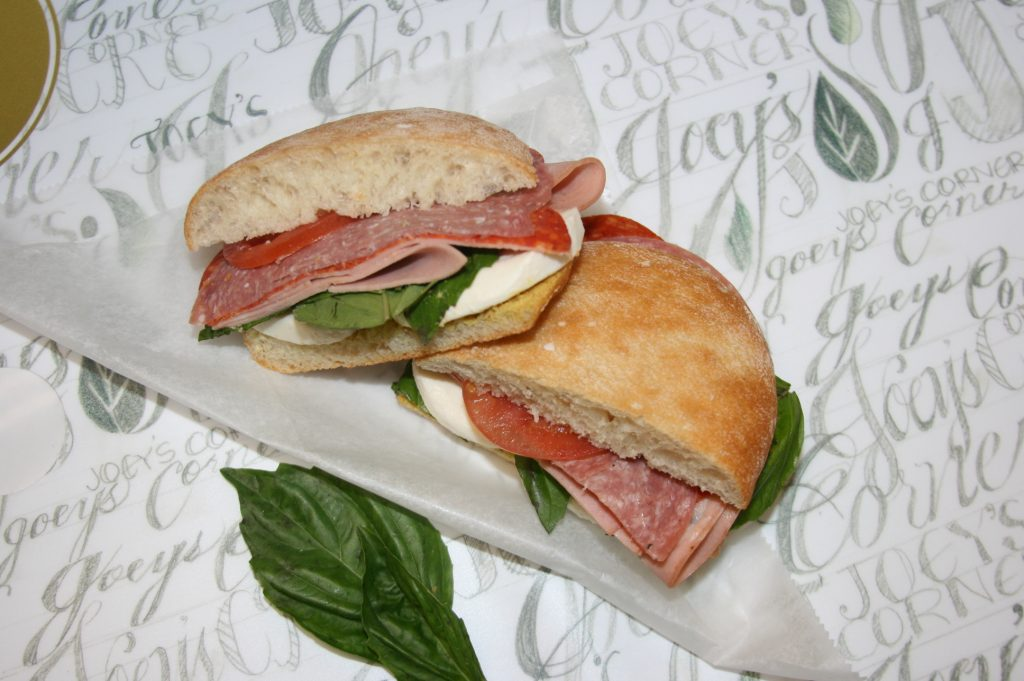 Joey's Corner Cafe Sandwich