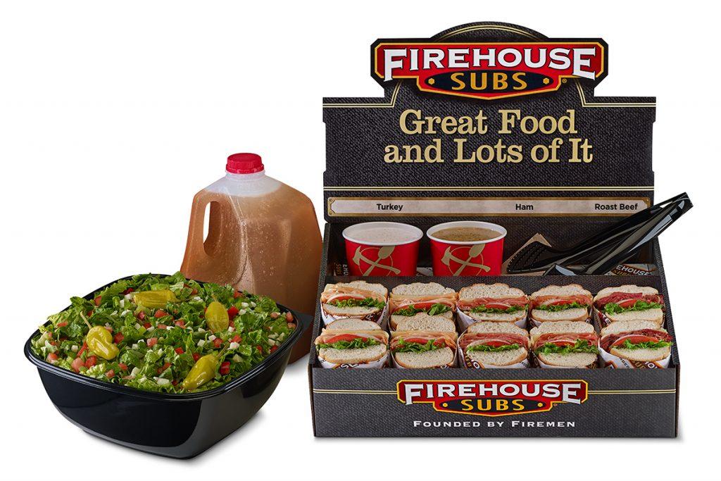 Firehouse Subs - Half Platter