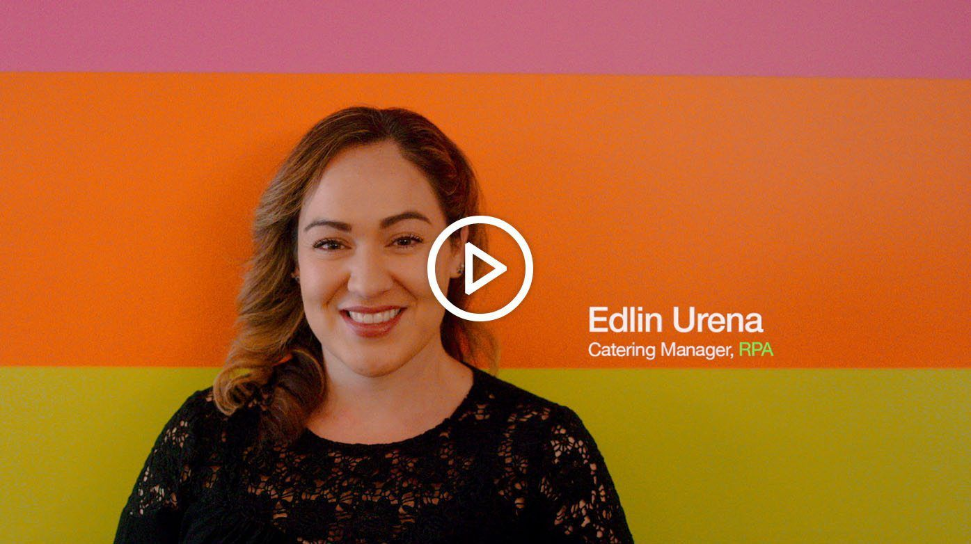 Listen to Edlin Urena, a Catering Manager at RPA, talk about the variety of caterers on ezCater.