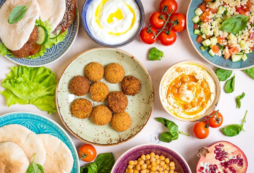 healthy vegetarian lunch options