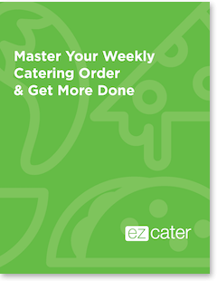 Master your weekly catering order guide