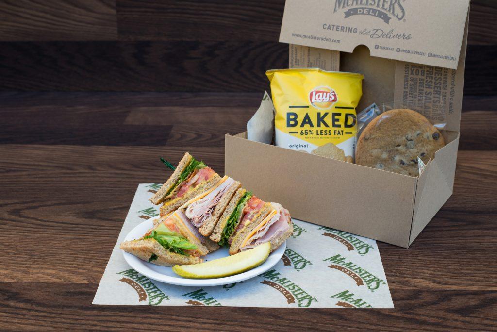 McAlister's Deli Club Sandwich Box