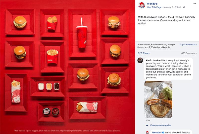 restaurants using social media successfully