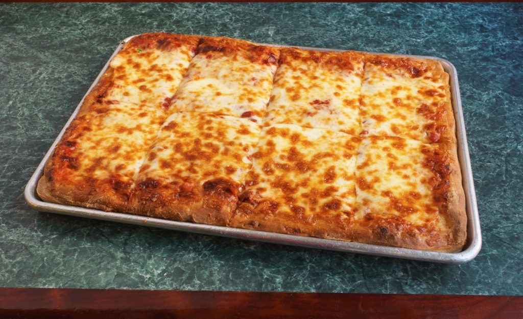 Cappy's Pizza & Subs sicilian cheese pizza