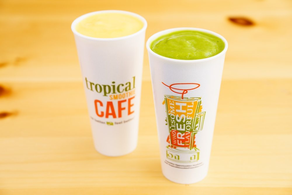 Tropical smoothie cafe catering