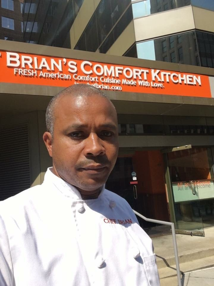 Brian Hill, Chef Brian's Comfort Kitchen