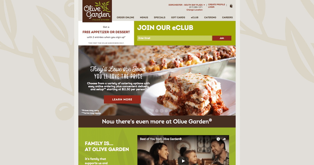 olive garden what do you want out of an olive garden meal a great italian meal with your family without spending an arm and a leg - Olive Garden Online Ordering