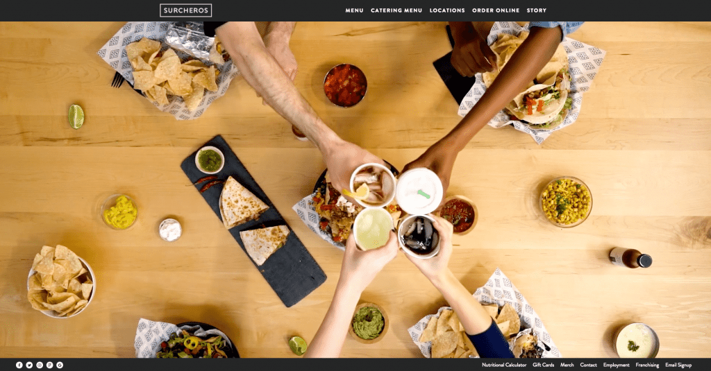 best restaurant websites