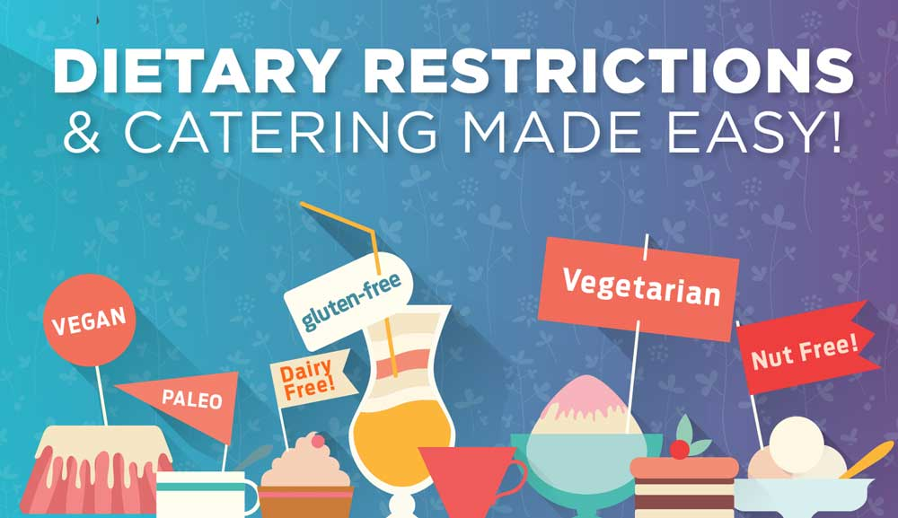 Navigating dietary restrictions when planning catering