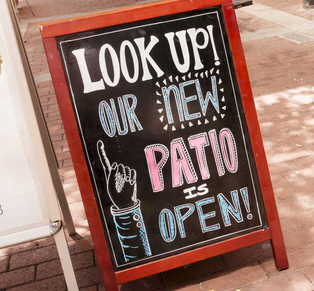 How to use point-of-sale signs are key restaurant marketing materials.