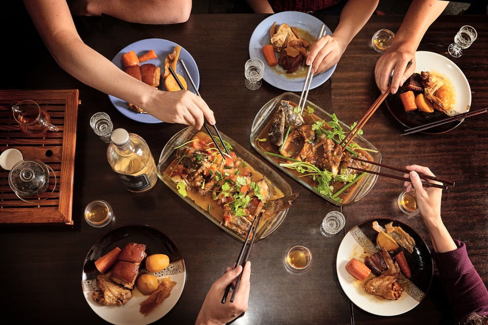 The history of Chinese-American cuisine.