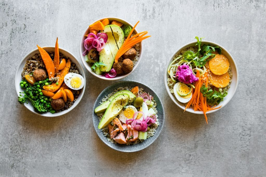 Food trends for millennials in the workplace: Customizable one-bowl meals