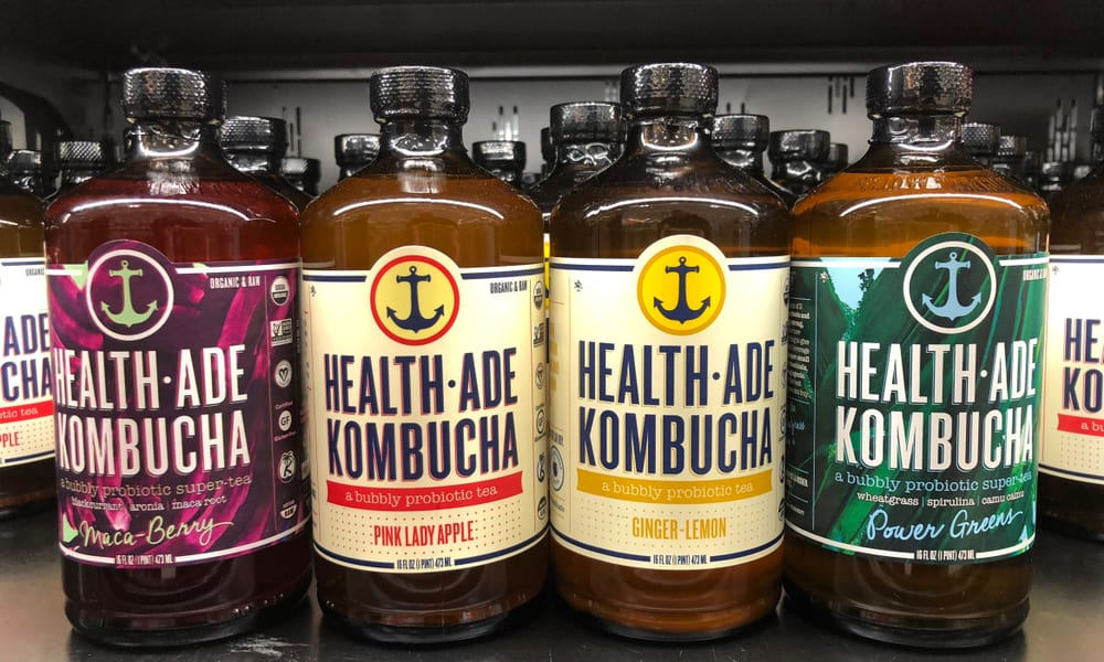 Food trends for millennials in the workplace: Kombucha tea