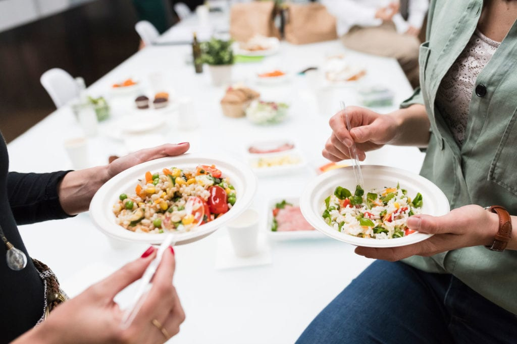 Want to succeed at growing your catering business? Here's a primer on four ways to get on your target customer's radar and build demand.