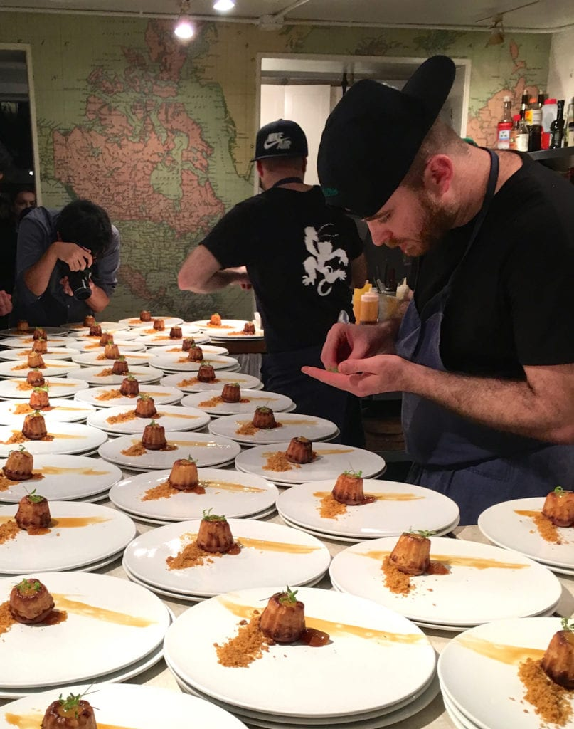 Chefs Sean and Colin Kleeman, representing the restaurant Shōjō, cook a Chinese feast at the legendary James Beard House to ring in the Lunar New Year.